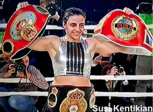 Susi Kentikian GBU Champion